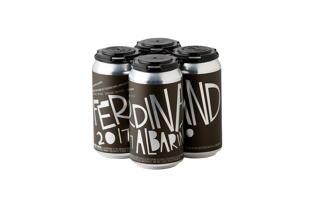 2017 Ferdinand Albariño 375ml Can (4-Pack)