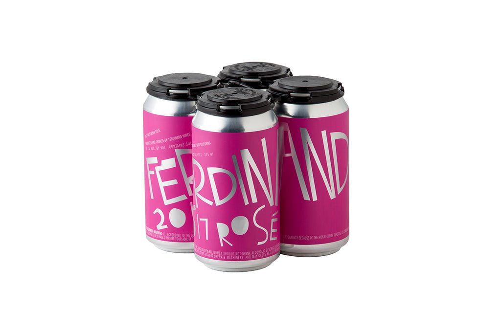 2017 Ferdinand Rosé 375ml Can (4-Pack)