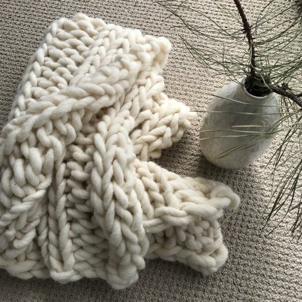 Double Rib Stitch Blanket