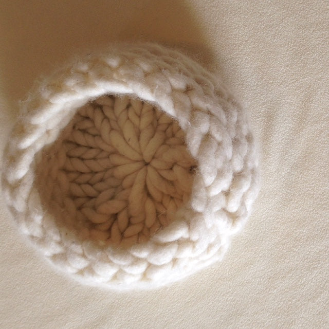 Soft Vessels - Wool Basket