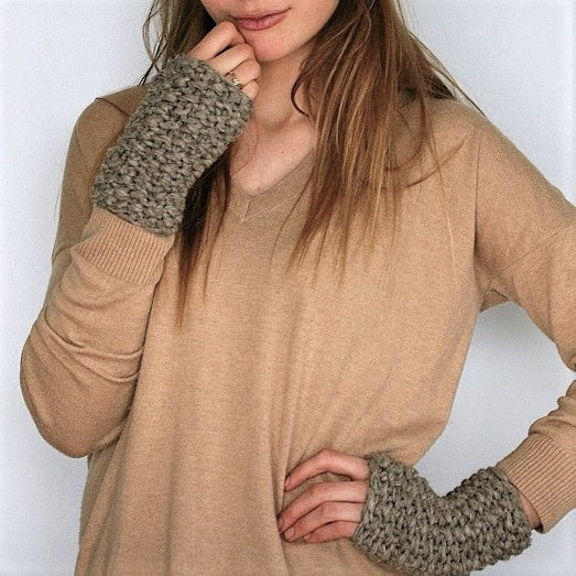 Mimi Wrist Warmers - Fingerless Gloves