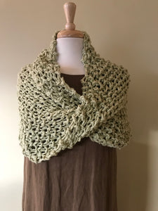 Organic Cotton Tasia Shawl Scarf