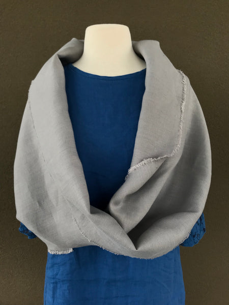 Linen Infinity Shawl and Cowl 2