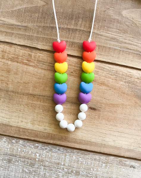 Rainbow Necklace: play/sensory