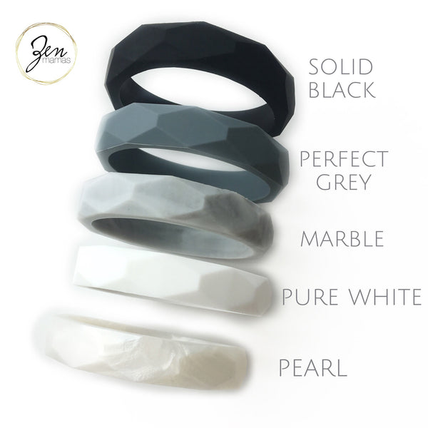 MONO Geo Bangle Teething Bracelet
