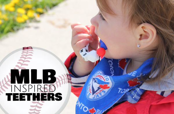 MLB - Inspired Personalized Infant Teether