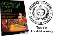 Anti-Aging Secrets of Spices Wins Readers' Favorite Award