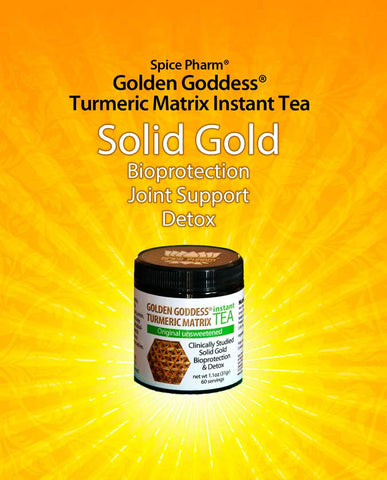 Turmeric Matrix Instant Tea - Solid Gold
