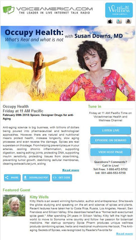 Occupy Health Podcast w/ Susan Downs MD