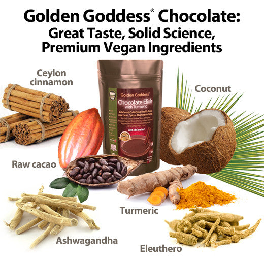 Buy Golden Goddess® Chocolate