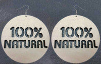 100% Natural Earrings-Earrings-Marvel Hairs