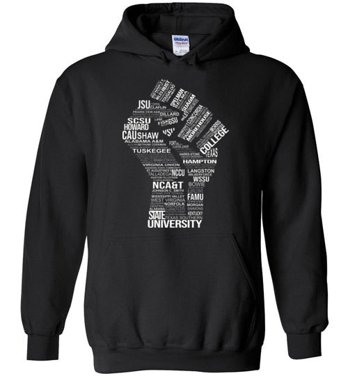 Unisex Historically Black Power Hoodie