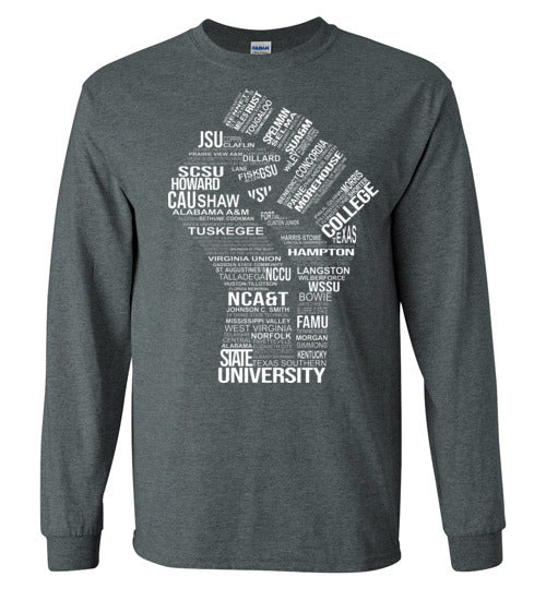 Men's Historically Black Power Long Sleeve