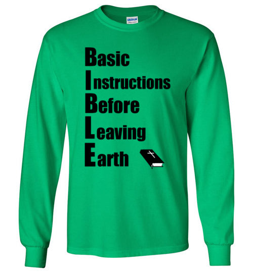 B.I.B.L.E. Long Sleeve T-Shirt