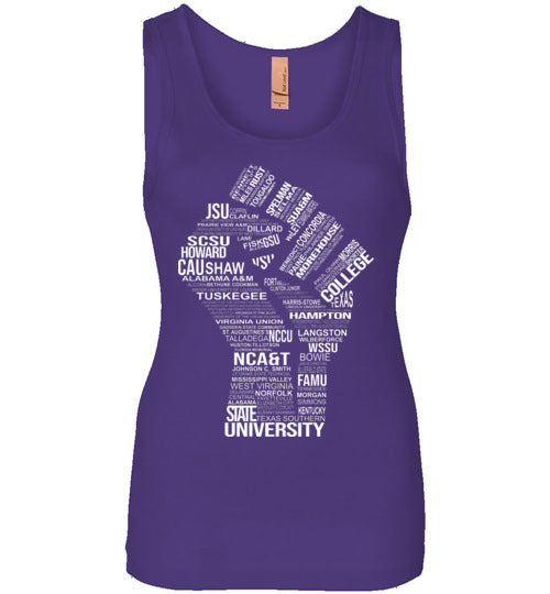Women's Historically Black Power Tank Top