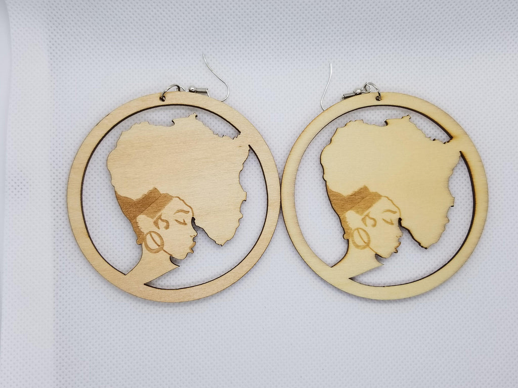 My African Roots Earrings - Marvel Hairs