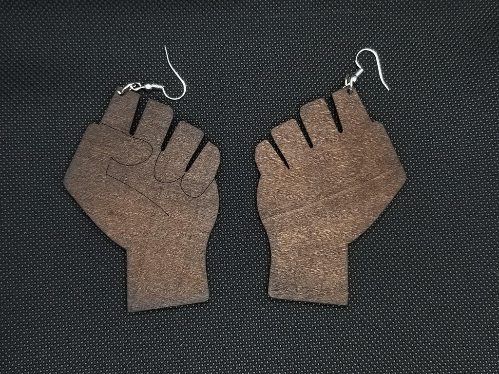 Melanin Power Earrings - Marvel Hairs