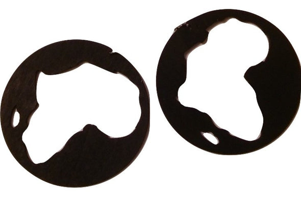 Africa Hoop Earrings - Marvel Hairs