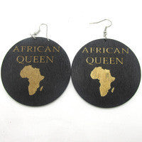 African Queen Earrings - Marvel Hairs