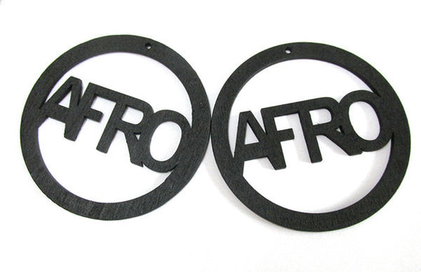 Afro Hoop Earrings - Marvel Hairs