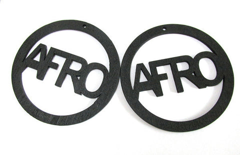 Afro Hoop Earrings-Earrings-Marvel Hairs