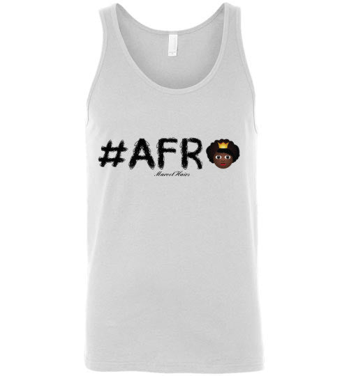 #Afro Tank Top - Marvel Hairs