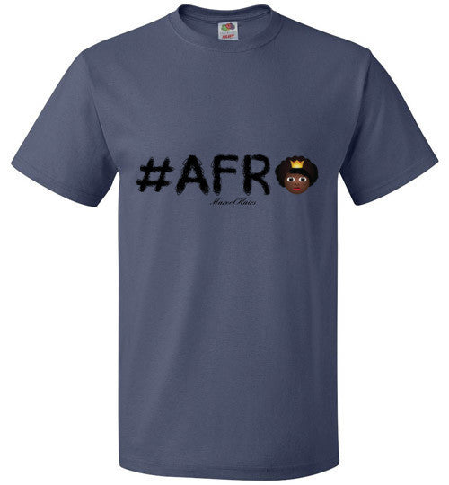 #Afro Tee - Marvel Hairs