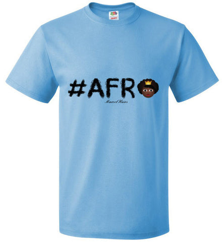 #Afro Tee-Shirts-Marvel Hairs