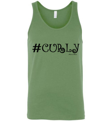 #Curly Tank-Shirts-Marvel Hairs