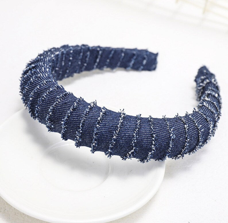 Denim Headbands