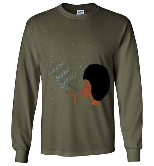 Let It Fro Long Sleeve - Marvel Hairs