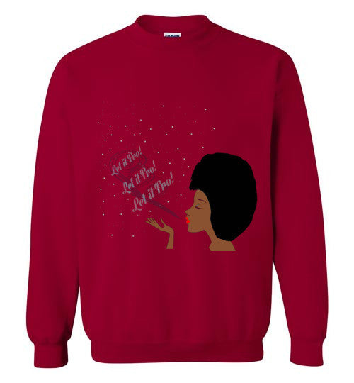 Let It Fro Sweatshirt - Marvel Hairs