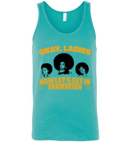 Let's Get In Fromation Women's Tank Top - Marvel Hairs