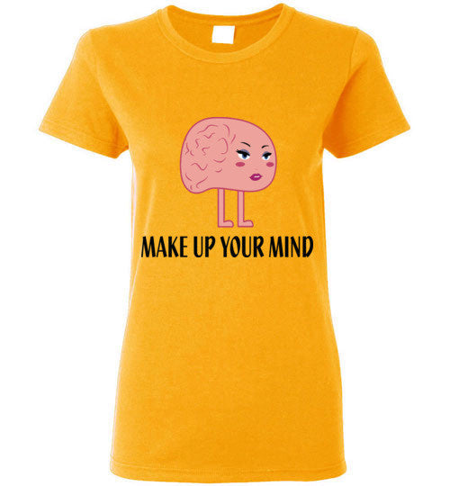 Make Up Your Mind T-Shirt - Marvel Hairs