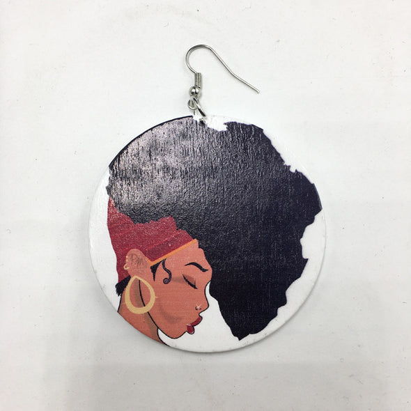 My African Roots Earrings-Earrings-Marvel Hairs