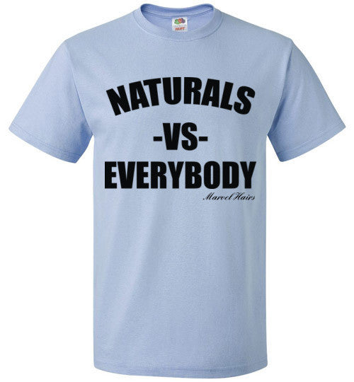 Naturals vs Everybody Crew Neck - Marvel Hairs