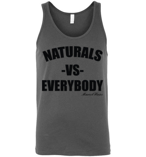 Naturals vs Everybody Tank Top - Marvel Hairs