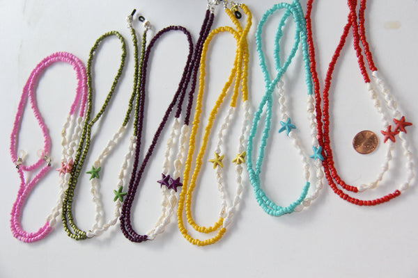 Handmade Lanyards with natural sea shells from Hawaii Big Island