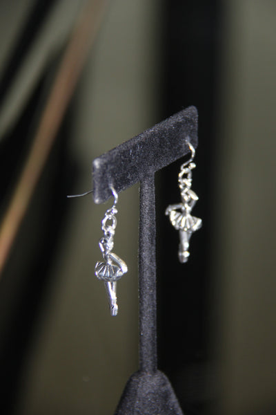 Ballerina Charm ear rings