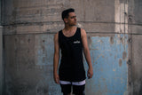 Wolfpack Singlet / White on Black