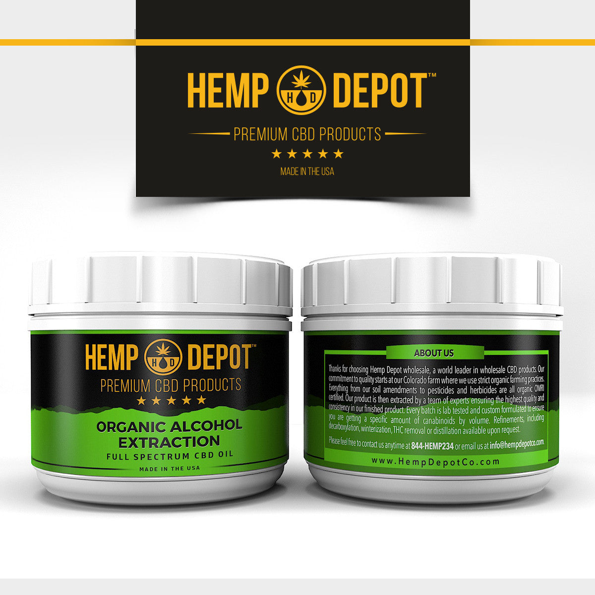 Wholesale and Bulk CBD Oil For Sale - ALCOHOL EXTRACTION - The Depot