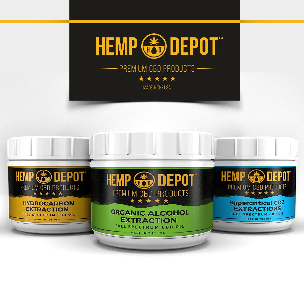 Hemp Depot - Wholesale Distillate CBD Oil For Sale - The Depot Wholesale