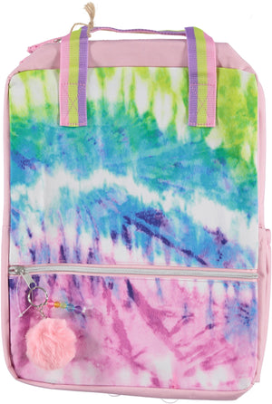 Backpack ECO-Friendly Tie Dye Baby Pink