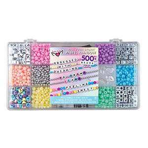 Tell Your Story Alphabet Bead Case - Pastel