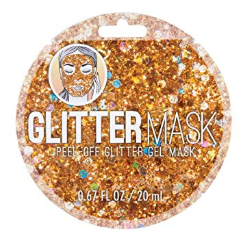 Face Mask - Glitter - Gold
