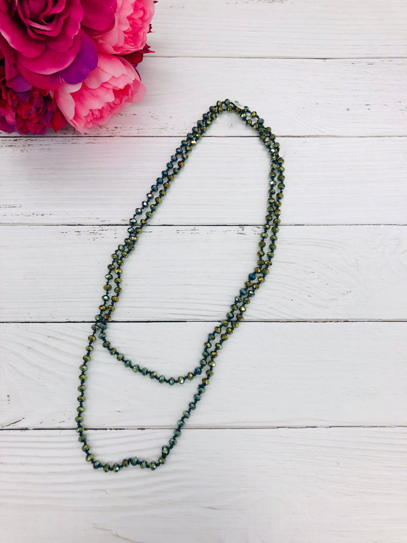 Seaweed - Beaded Necklace 60