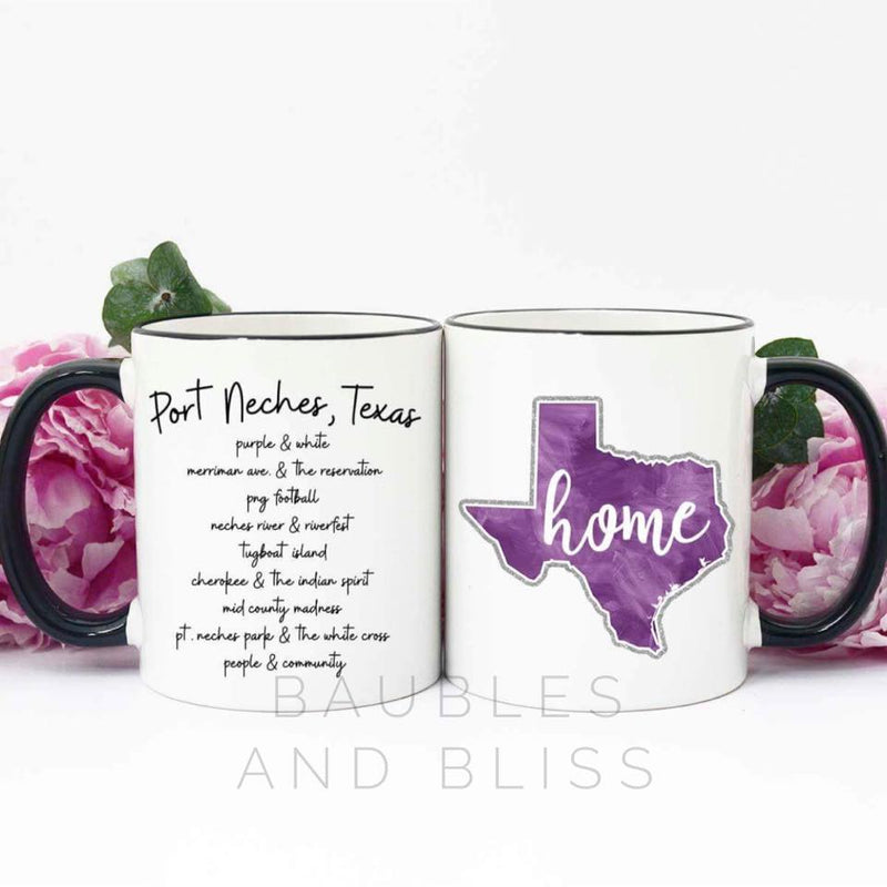Port Neches Hometown Mug - B&B Exclusive