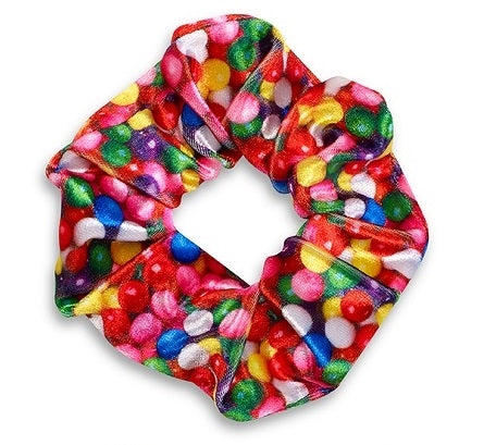 Scented Candy Scrunchies