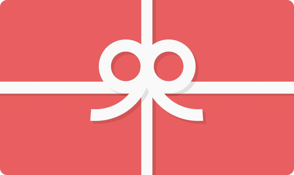 Electronic Gift Card $10 - $100