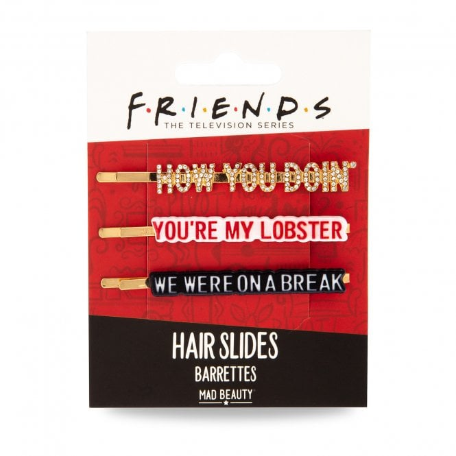 Friends Hair Slides